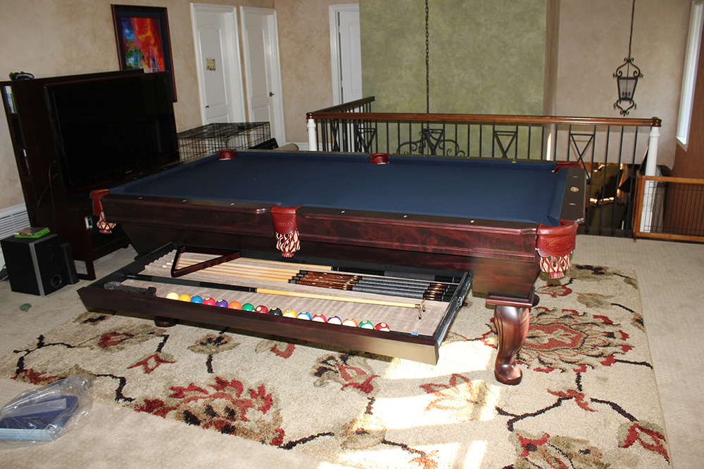 Connelly Builds The Ultimate Pool Table Pool Table Service - Connelly ultimate pool table