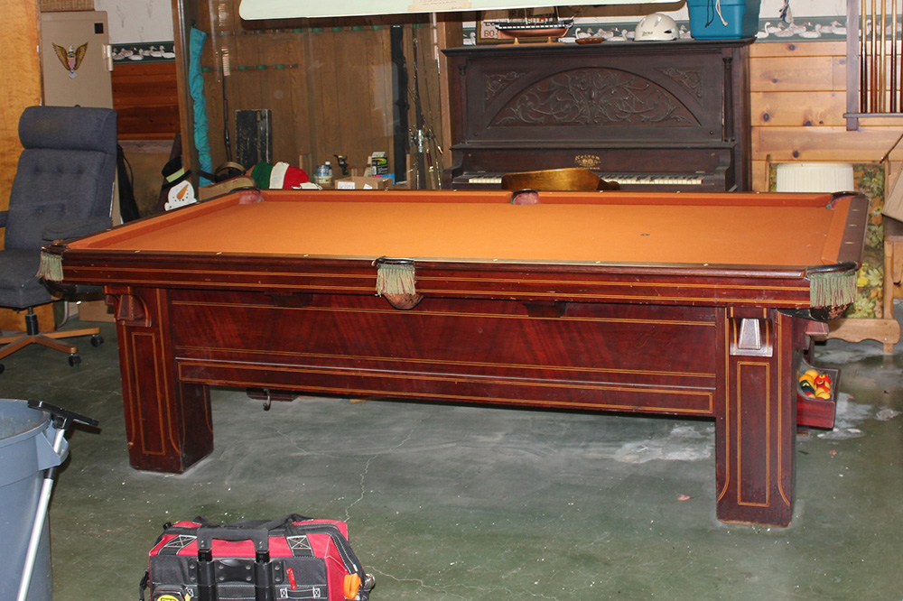 How To Make A 1000 Pound Billiard Table Disappear?