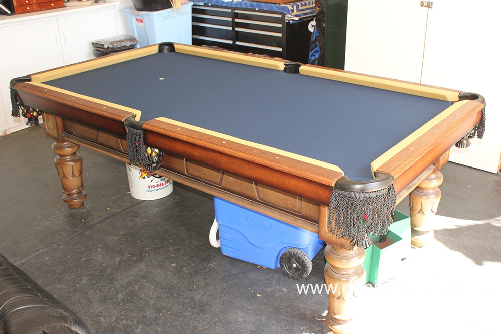 Bar size pool table archives pool table service billiard supply 1970s pool table in original condition we were called out to harbor city california for a pool table refelt this goldenwest manufacturing billiard table watchthetrailerfo
