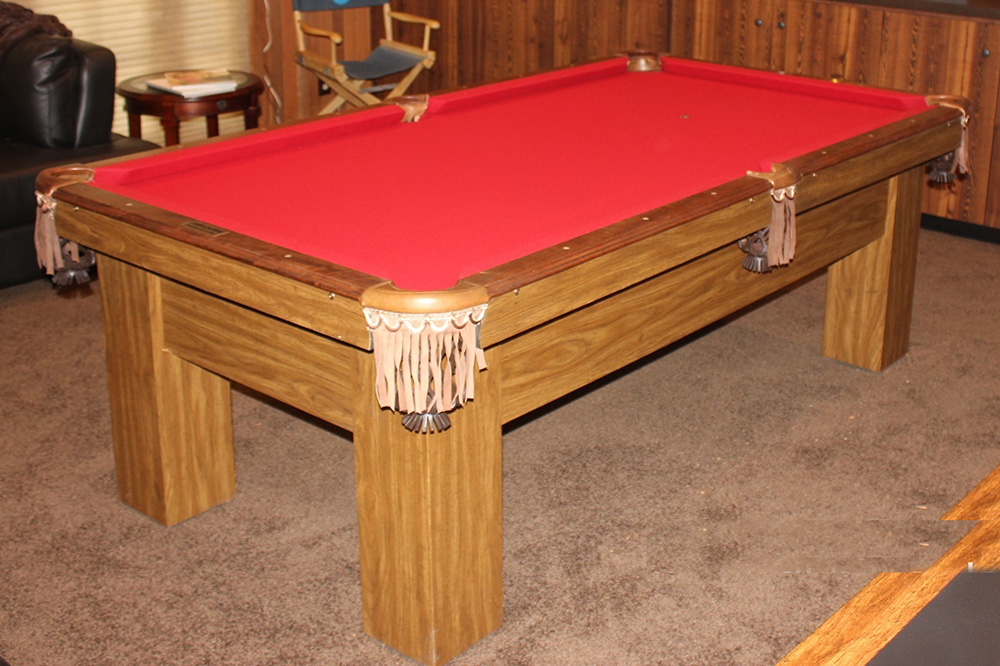 Thirty Year Old Gets Face Lift. By Pool Table King