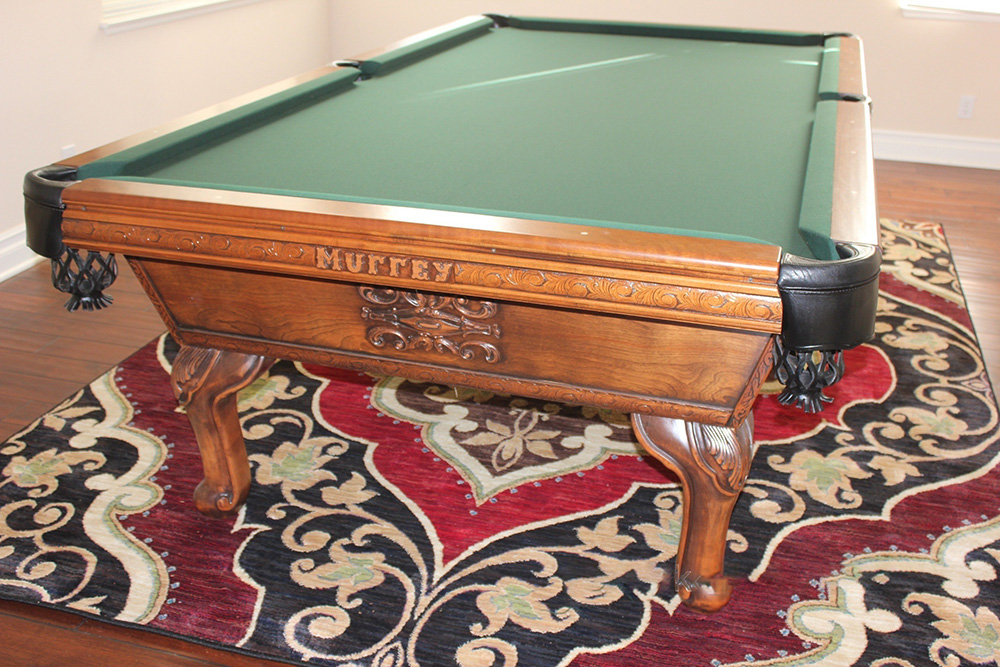 Murrey And Sons Out Of Storage Pool Table Service Billiard - Murrey billiard table