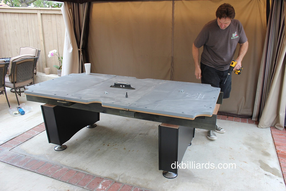 Living In Southern California Affords Us Mild Weather Nearly Year Round, So Billiard  Tables Outside Are Quite Common. But The Weather Can Still Effect The ...