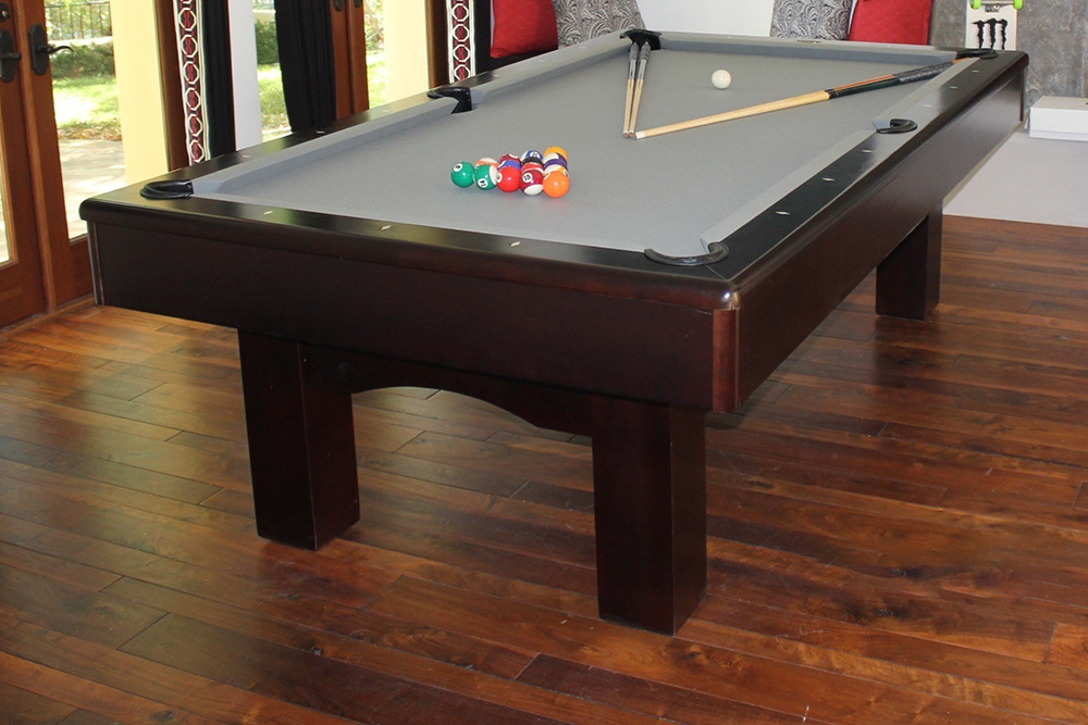 Pool Table Delivery And Install Archives Page Of Pool - How to install pool table felt