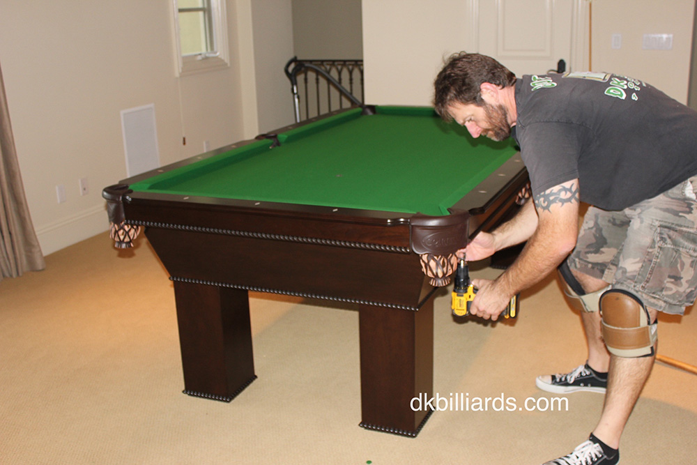 Ventana Rope Pool Table