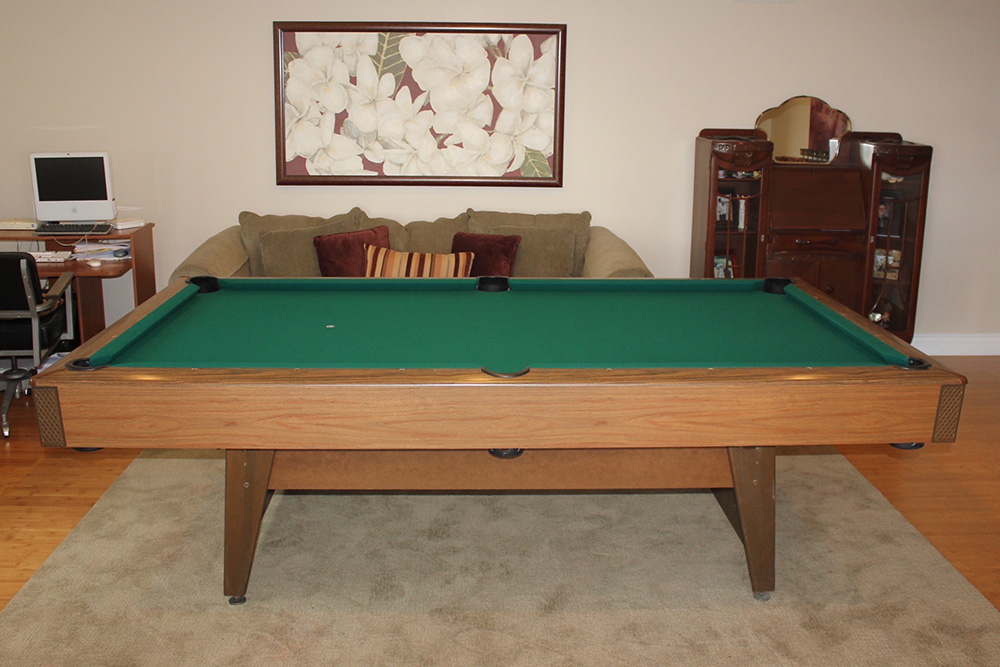 This Brunswick Heritage Pool Table Lived In The Basement Of This North  Tustin, California Home For Over Forty Years. The Family Did Some  Reconfiguration And ...