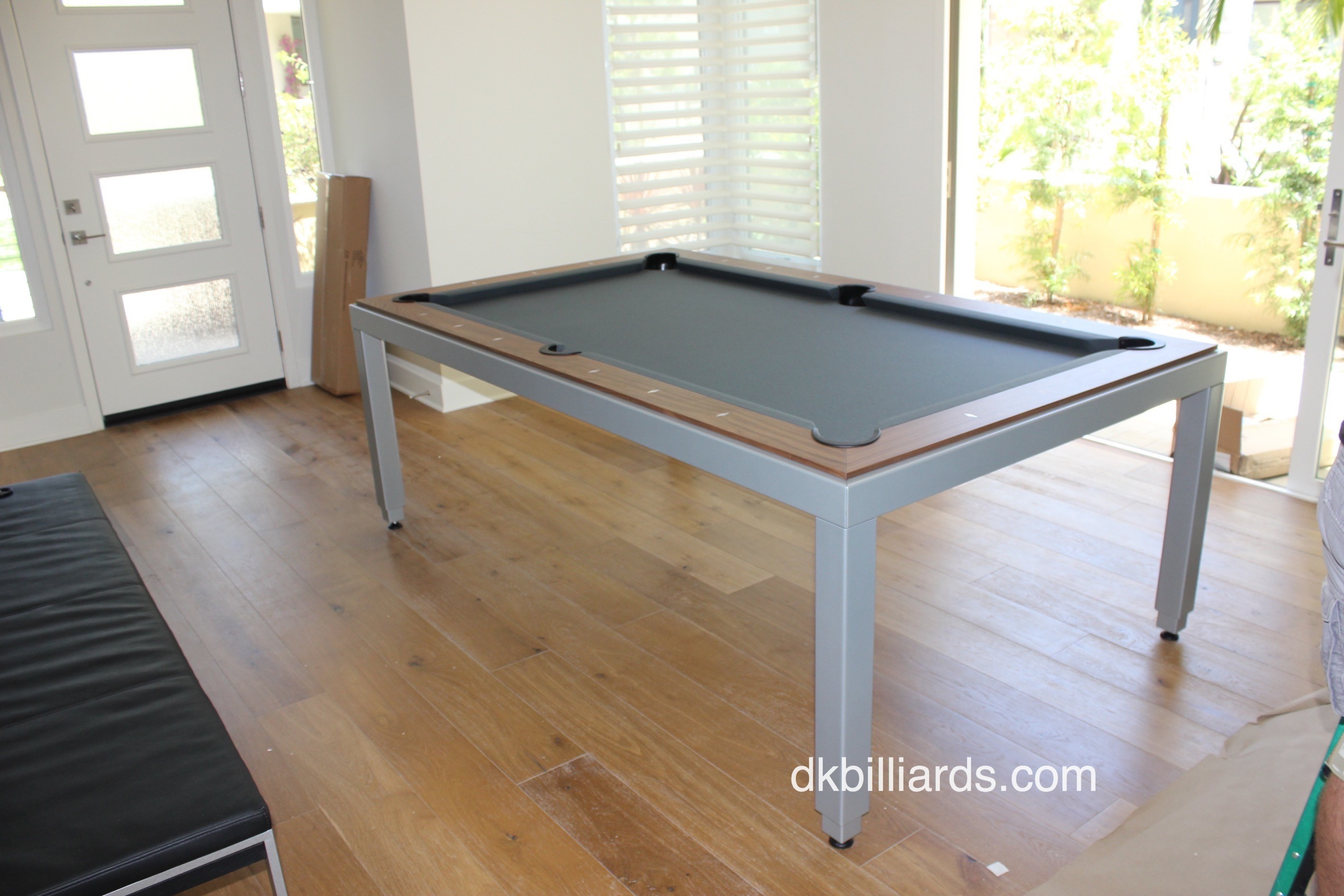 The Convertible Aramith Fusion Is A Modern Designed Dining Table That  Converts Quickly And Easily To A Pool Table. The Adjustable Height Keeps  The Billiard ...