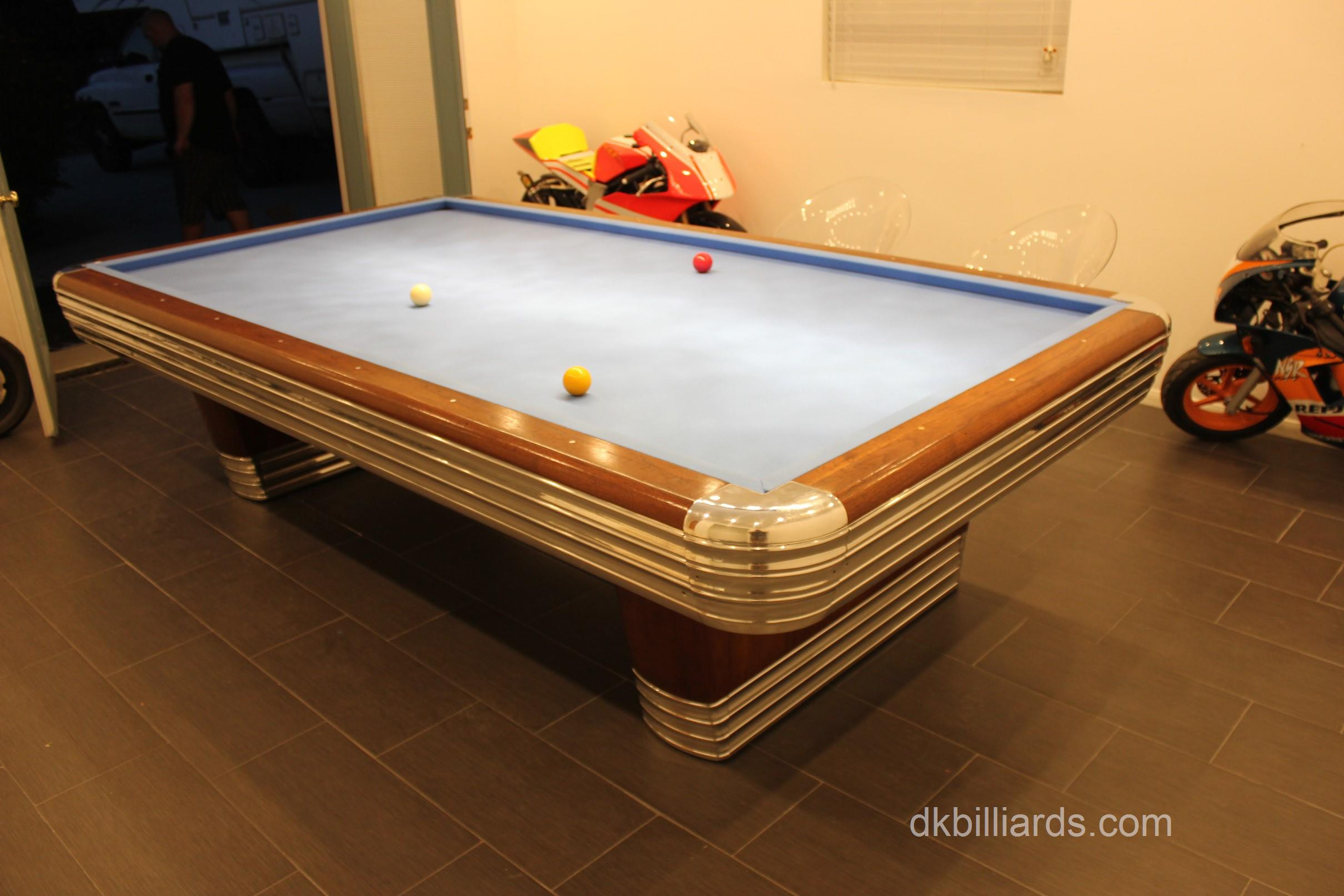 ... we setup a Brunswick Centennial Art Deco Masterpiece in Redlands California. The lengthy and difficult process of restoring a midcentury table ... & Billiard Table Setup Archives - Pool Table Service u0026 Billiard Supply ...
