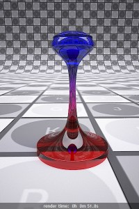 V-Ray Refraction Colors Procedural