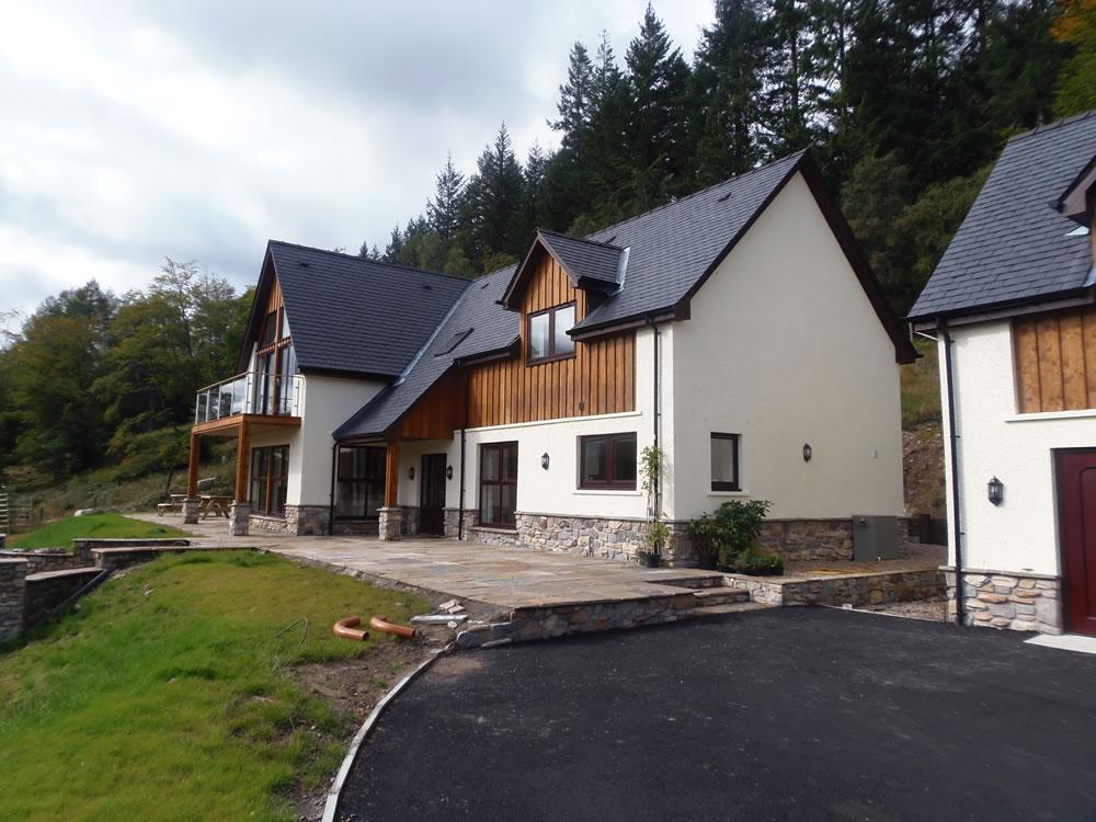 G Hadfield house Gairlochy  dkelly designdkelly design