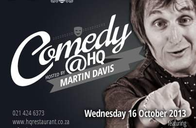 #ComedyNight @ HQ CAPE TOWN