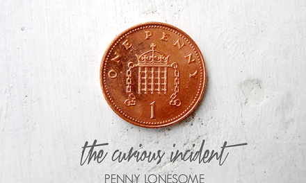 THE CURIOUS INCIDENT PENNY LONESOME EP