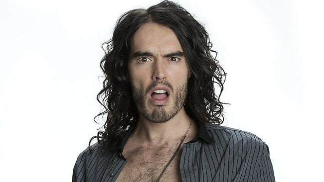 RUSSELL BRAND IN OCTOBER 2015
