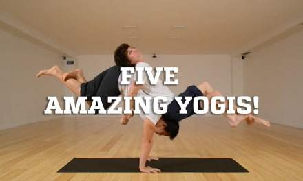 Five Amazing Yogis