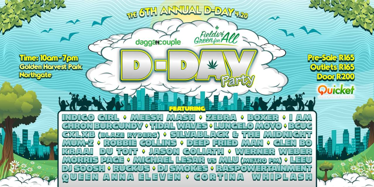 D.DAY4.20 HOSTED AT GOLDEN HARVEST PARK FOR FIRST TIME THIS YEAR