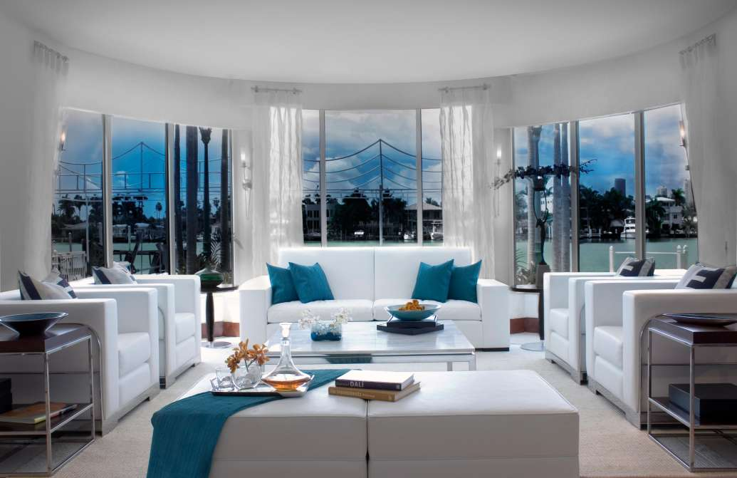 living room miami accent wall color for small spotlight on spaces dkor interiors design