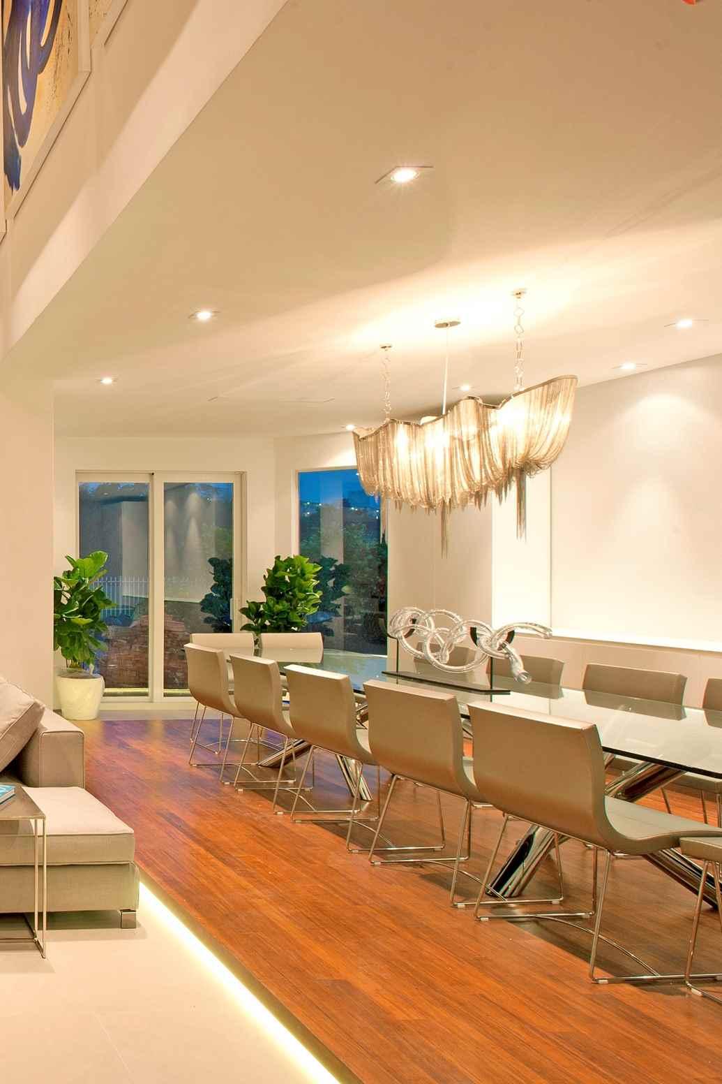 Designer Lighting Inspires our Miami Interiors  Residential Interior Design From DKOR Interiors