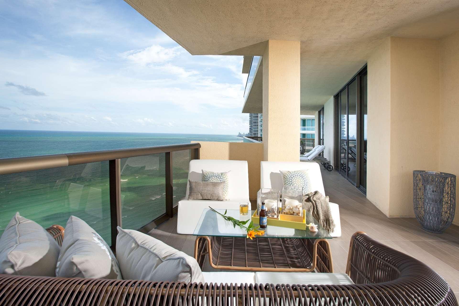 Sophisticated Interior Design in Sunny Isles Florida