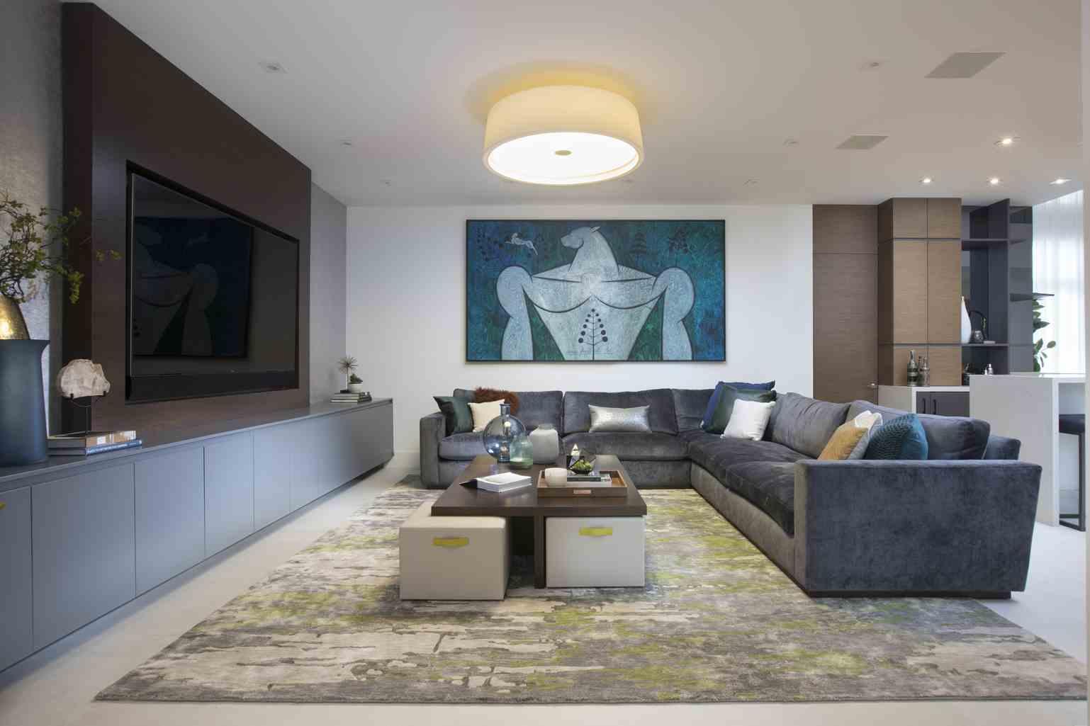 Media Room Ideas  Residential Interior Design from DKOR