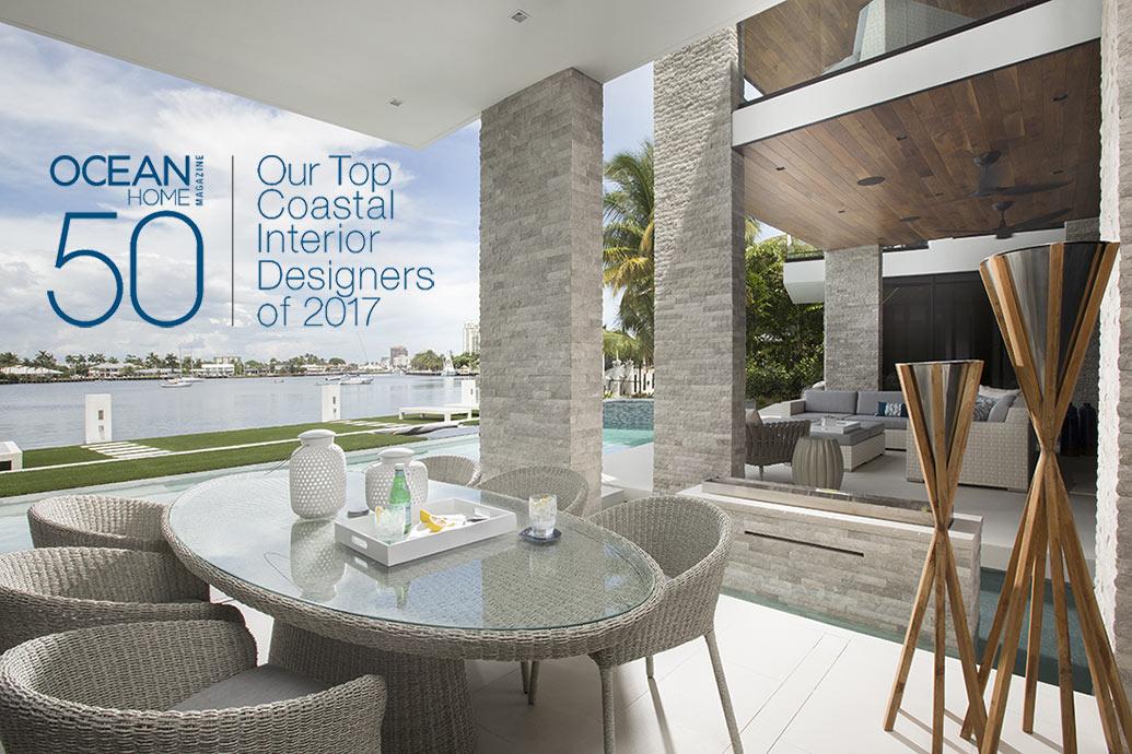 Top Coastal Interior Designers of 2017  Miami Interior