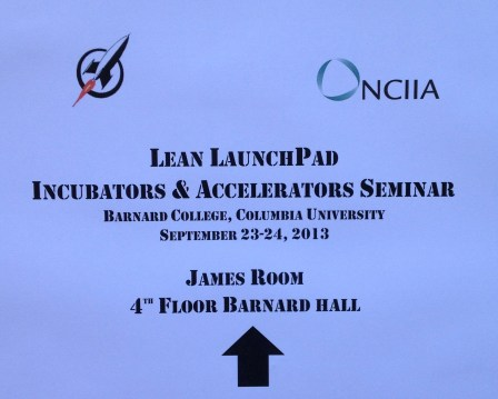 Steve Blank's LLP program for Incubators and Accelerators