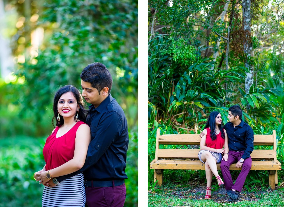 Washington Oaks State Park Engagement Session