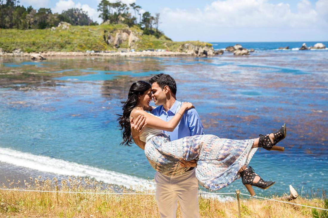 Big Sur Engagement Photography