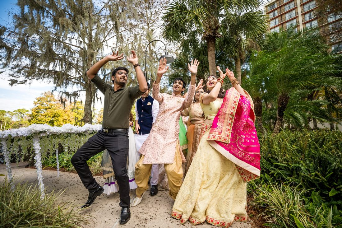 hyatt regency grand cypress orlando indian wedding photographer