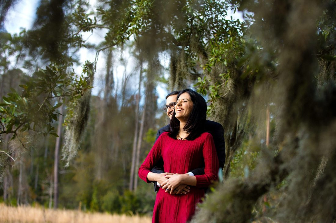 Wormsloe Plantation Savannah Georgia Engagement Session