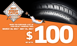 Hankook great catch rebate