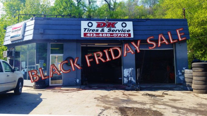 from 8am to 1 pm on 11/27/15 cheap tires
