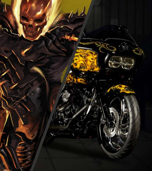 This is totally Johnny Blaze