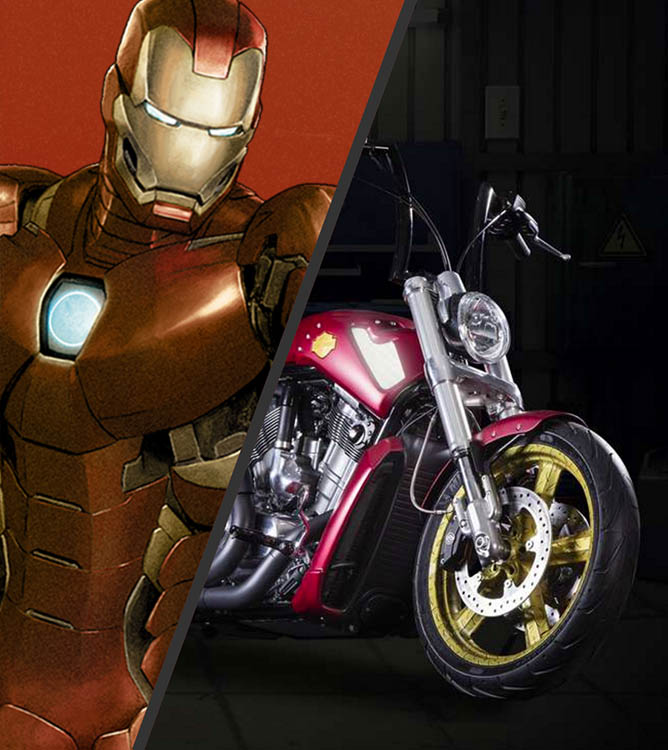 Iron Man V Rod Muscle Boldness