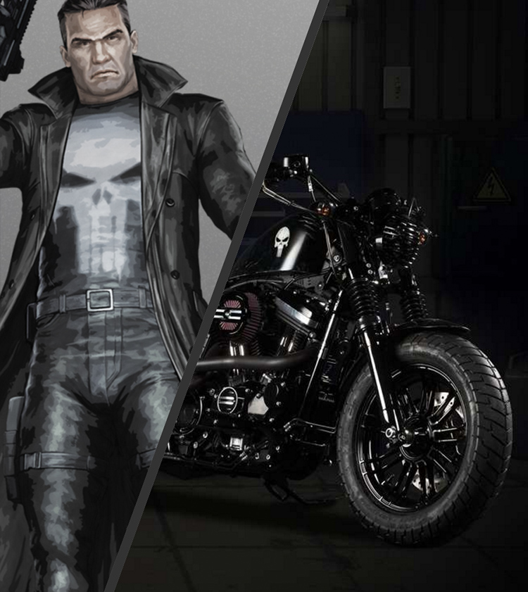 Punisher Forty Eight Up-Front