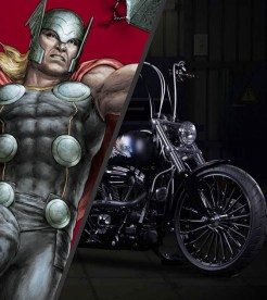 If this bike can transfer Thors Hammer does that make it worthy?