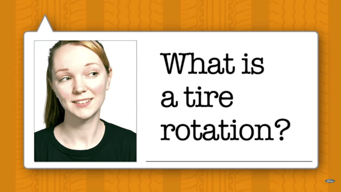 Tire rotation explained