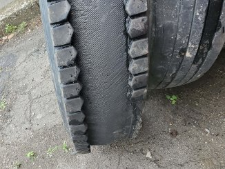 This tire is missing a little something