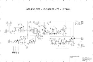 SSB Exciter with IFClipper