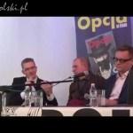 Debata Grzegorz Braun i Paweł Tanajno w Dąbrowie Górniczej