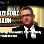 Komentarz do stanowiska Andrzeja Dudy w sprawie in vitro