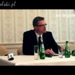 Grzegorz Braun – konferencja prasowa w Pabianicach