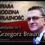 Ogólnopolska Konwencja Kandydata na Prezydenta RP Grzegorza Brauna