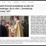 Komorowski, in vitro i dziękczynienie…