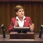 Premier Szydło broni projekt budżetu na 2016 rok
