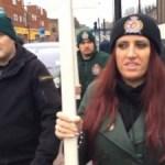 Chrześcijański patrol w islamskiej dzielnicy w Luton (Wielka Brytania)