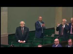Pożegnanie Rzeplińskiego w Sejmie