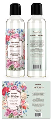 hair conditioner label template