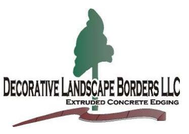 decorative landscape borders installer