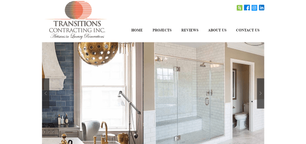 Transitions Contracting Web Designs