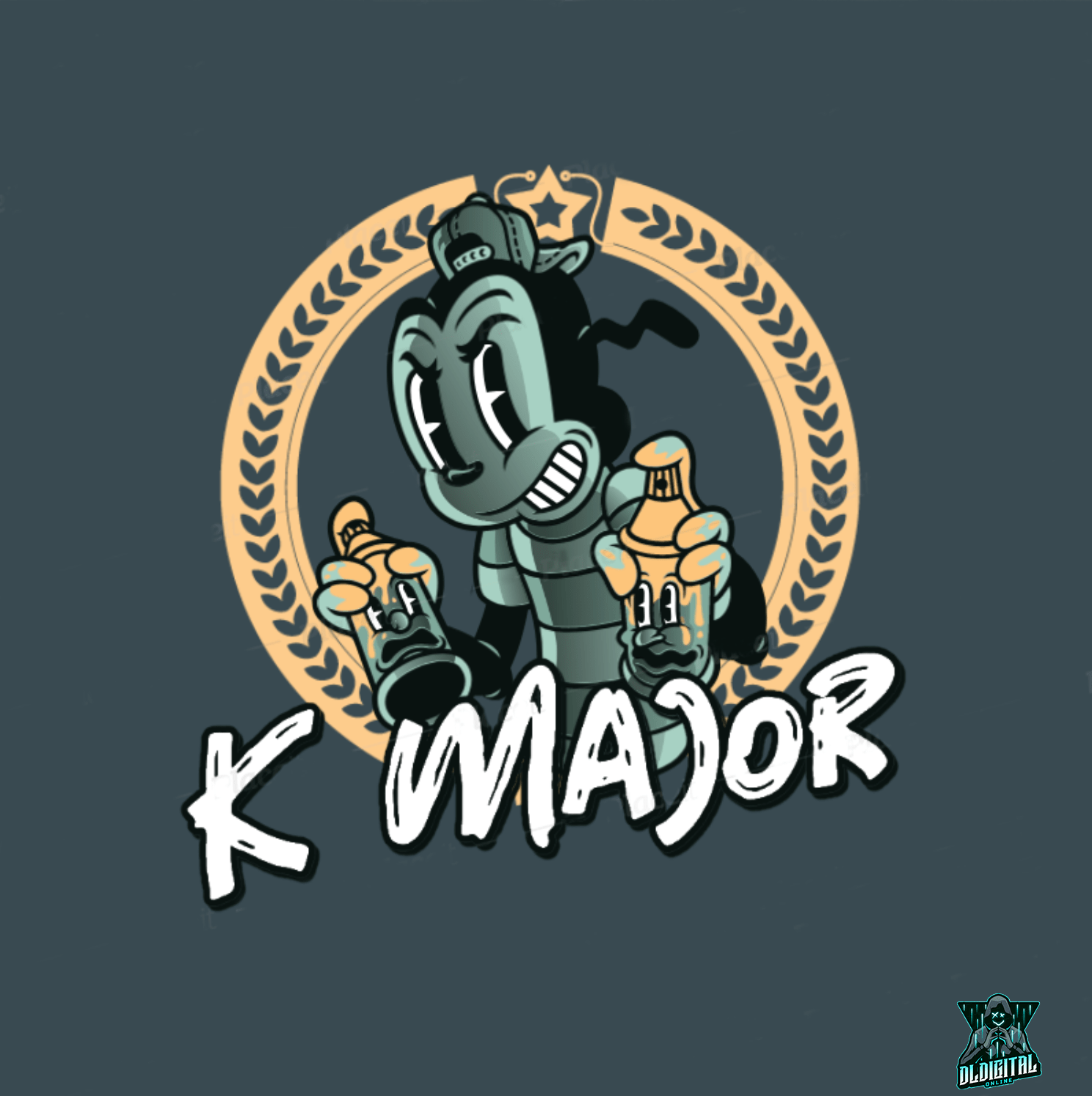 k-major logo design