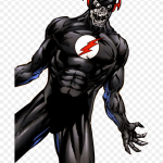 Transparent Black Flash Png Black Flash Comic Png Png Download 707x1046 Png Dlf Pt